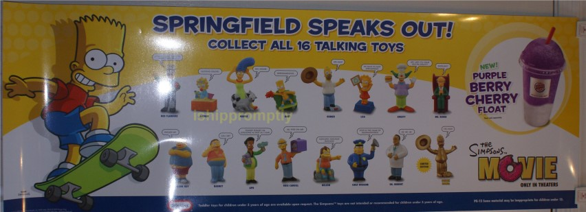 The Simpsons Movie Htf Promotional Items 179 95